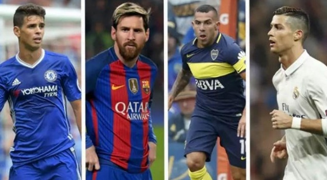 Dört büyüklerdeki futbolcuların maaşları