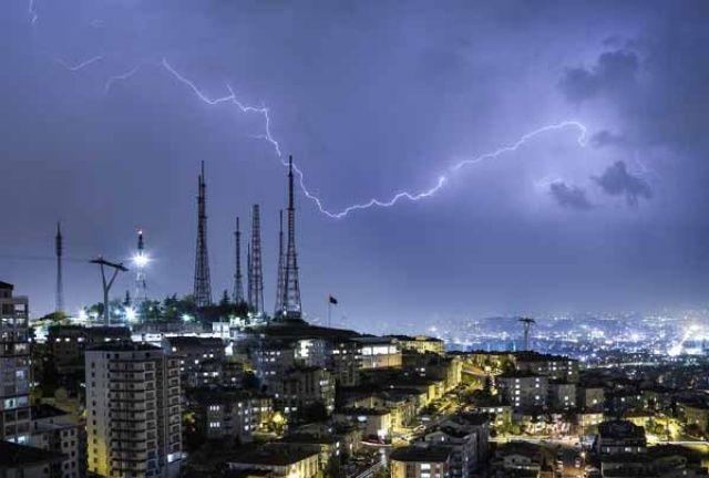 Ankara hava durumu! Şimşekler etkili oldu