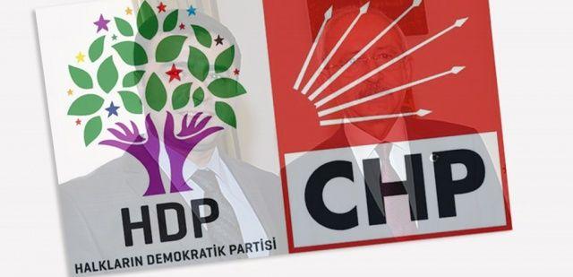 CHP-HDP ittifakı yine işbaşında!
