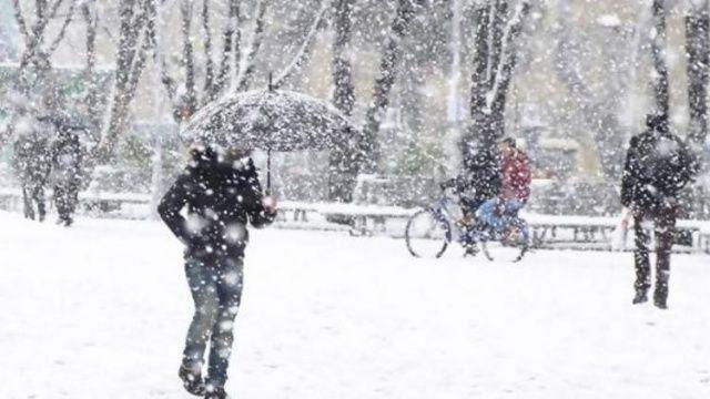 Batı Karadeniz için sağanak ve kar uyarısı