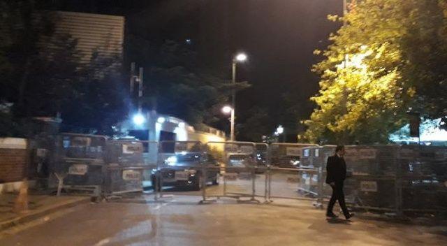 Suudi Arabistan konsolosluğunda gece yarısı hareketlilik