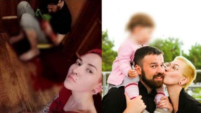 Eski kocasını bıçaklayıp selfie çekti!