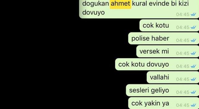 Ahmet Kural ve Sıla'nın dayak soruşturmasında flaş gelişme! WhatsApp konuşmaları ortaya çıktı