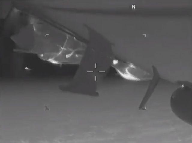 Ve görüntüler yayınlandı: Karadeniz'de süper gerginlik!