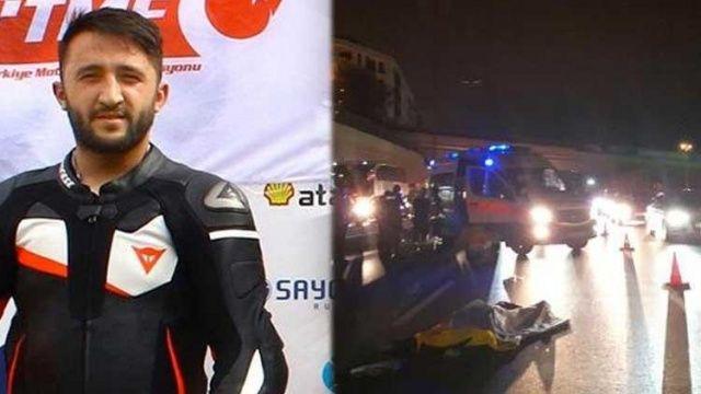 Şampiyon motorcu, kazada hayatını kaybetti