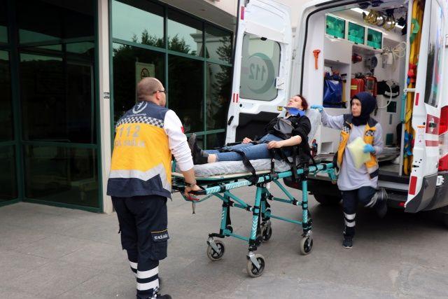 Feci kaza: Yaralılar var