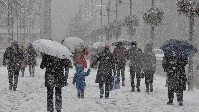 Meteoroloji saat verip, uyardı! Kar geliyor
