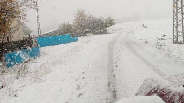 Bir ilimizde daha eğitime kar engeli!