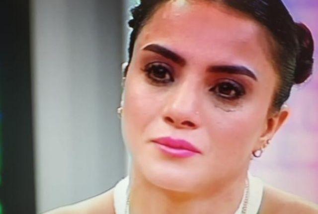 Dünya Şampiyonu Sabriye Şengül canlı yayında gözyaşlarına boğuldu