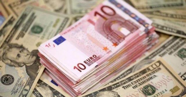 Euro 3 ayın en düşük seviyesinde