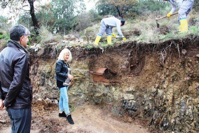 Bodrum'daki selin ardından ortaya çıktı! Roma dönemine ait lahit mezar bulundu