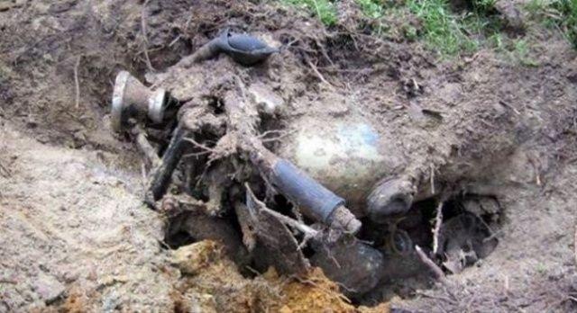 Metal dedektörle bakın ne buldular
