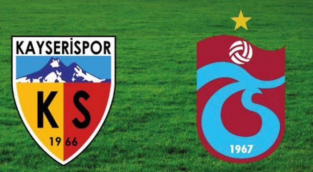 Özet İzle: Kayserispor 0-2 Trabzonspor özeti ve golleri izle | Kayseri, TS maçı skoru geniş özeti VİDEO