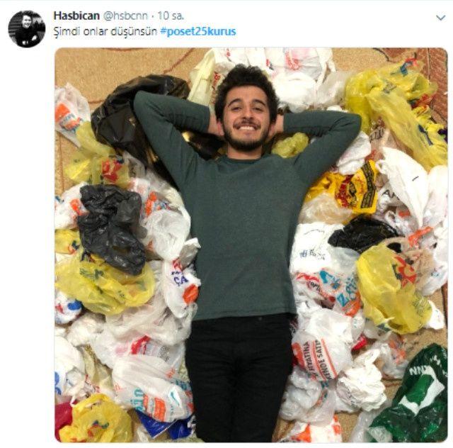 Paralı poşet uygulaması sosyal medyayı salladı