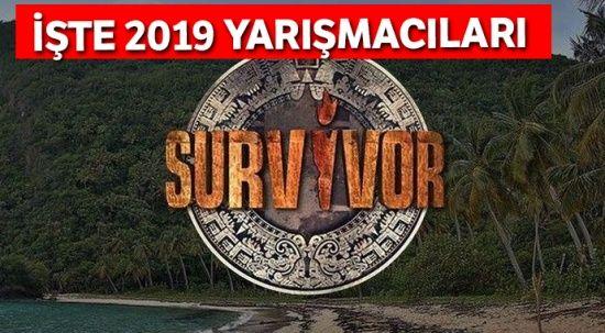 2019 Survivor Türkiye Yarışmacıları Belli Oldu! Survivor 2019 Türk Yarışmacıları Kimler?