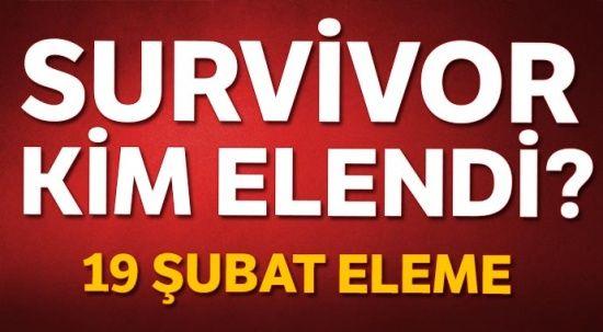 Survivor'da kim elendi, Kim GİTTİ? Survivor 19 Şubat Elenen İsim Kim? Survivor Son Bölüm