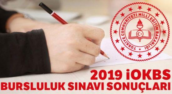 Bursluluk Sınav sonuçları 2019 | İOKBS MEB PYBS bursluluk sonuçları sorgulama ekranı