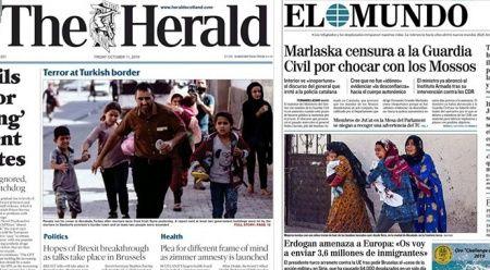 Dış Basın Barış Pınarı Harekatı'nı İhlas Haber Ajansı'ndan takip etti