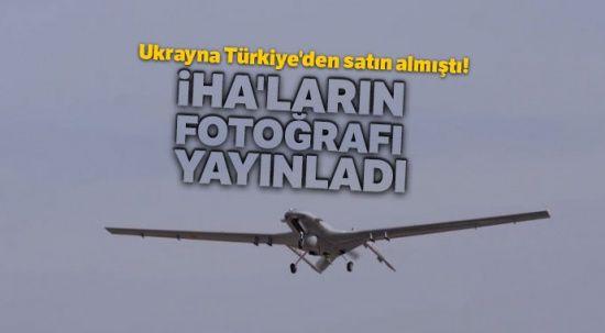 Ukrayna Türkiye'den satın almıştı! İHA'ların fotoğrafını yayınladı