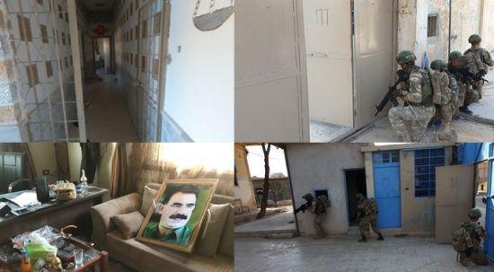 YPG'nin boşalttığı DEAŞ cezaevinin görüntüleri ortaya çıktı