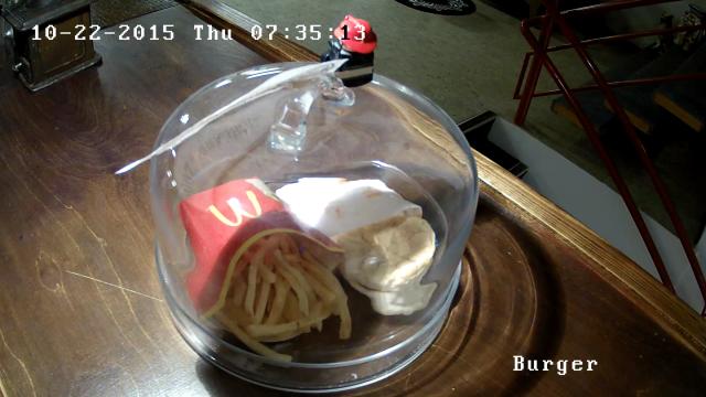 Görenler inanamıyor... Bu hamburger on yıllık ve hala küflenmedi! Sebebine inanamayacaksınız