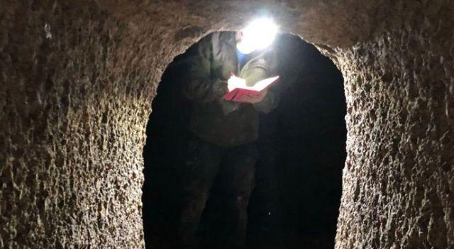 Kayseri'de yer altı şehri bulundu! Tam bin 300 metre uzunluğunda