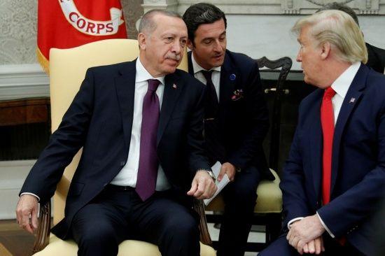 Cumhurbaşkanı Erdoğan Beyaz Saray'da! İşte görüşmeden kareler