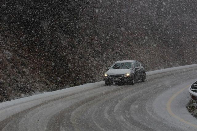 İstanbul'un yanı başına mevsimin ilk karı yağdı