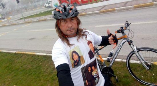 Her şey Survivor için! 2 bin kilometrelik yolu bisikletiyle kat ediyor