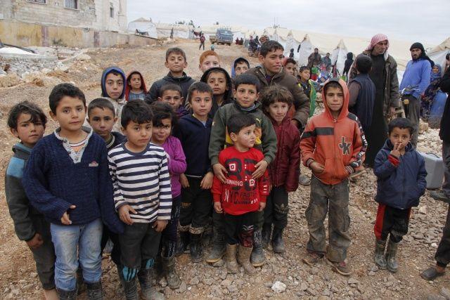Onlar savaşın çocukları! Bazıları hastanede, bazıları da çadırlarda hayata tutunmaya çalışıyor