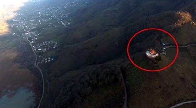 Çocukken keçi otlattığı tepede yıllardır kurduğu hayalini gerçekleştirdi