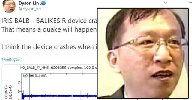 Tayvanlı Dyson bu kez deprem tahminini tutturdu, yorum yağdı!