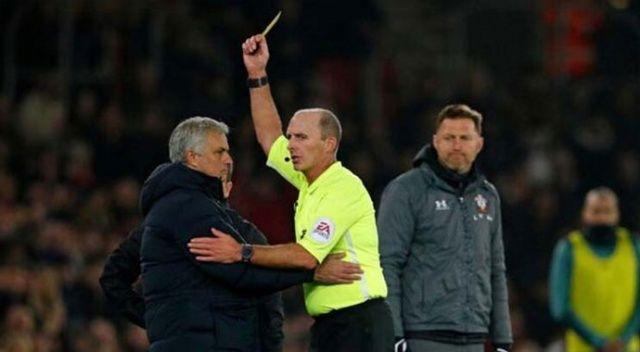 Jose Mourinho'dan maç sırasında olay hareket!