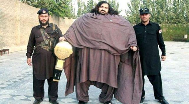 Tam 444 kilo! Pakistan'lı Hulk 100 kiloluk eş arıyor (Arbab Khizer kimdir, hayatı)