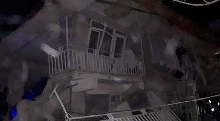 Elazığ'da deprem! İşte bölgeden ilk fotoğraflar