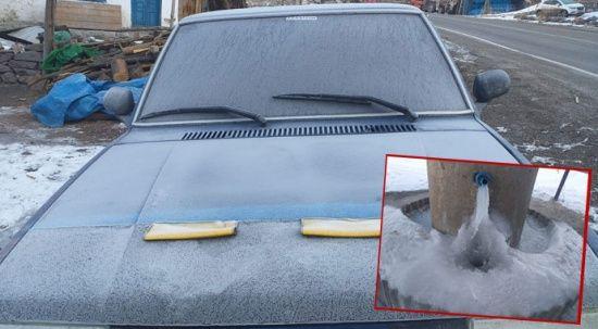 Doğu Anadolu buz kesti! Termometreler eksi 30,4'ü gösterdi