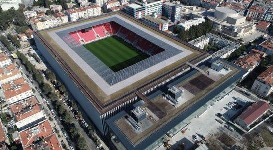 Türkiye'de ilk olacak stadyum açılışı için gün sayıyor