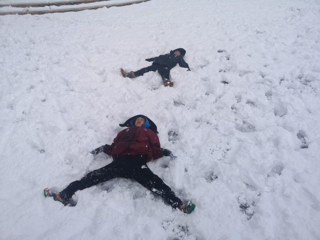 İlçe beyaza büründü, kar kalınlığı 10 santimetreye yaklaştı!