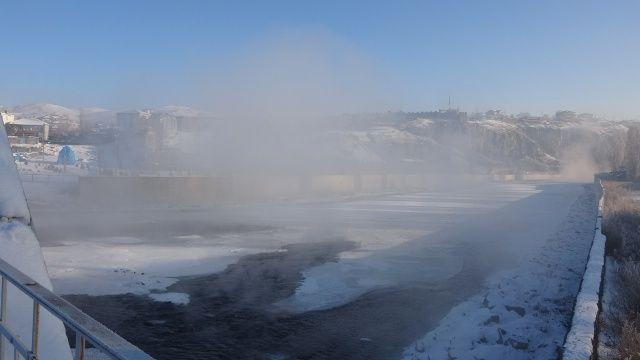 Buz şehre döndü: Termometreler eksi 38'i gördü