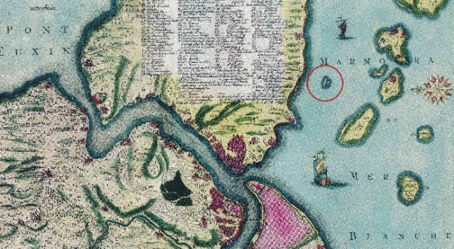 İstanbul'un su altında kalan gizemli adası dalgıçlar tarafından görüntülendi