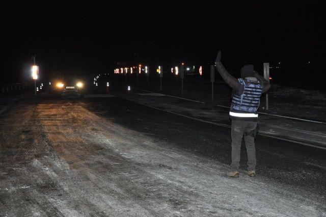 Kars'ta eksi 20 derecede asayiş uygulaması