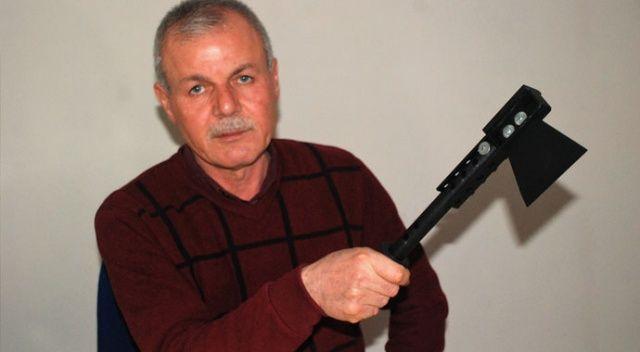 Emekli oldu, hayalindeki el aletini yapmak için 100 bin lira harcadı