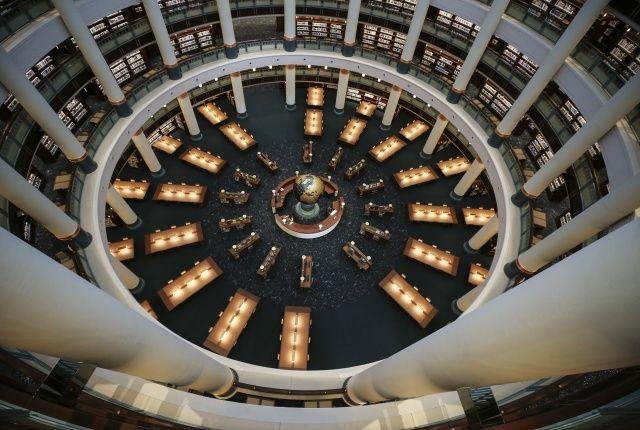 Cumhurbaşkanı Erdoğan'ın açılışını yapacağı Millet Kütüphanesi'ndeki 16 sütun bakın ne anlama geliyor!