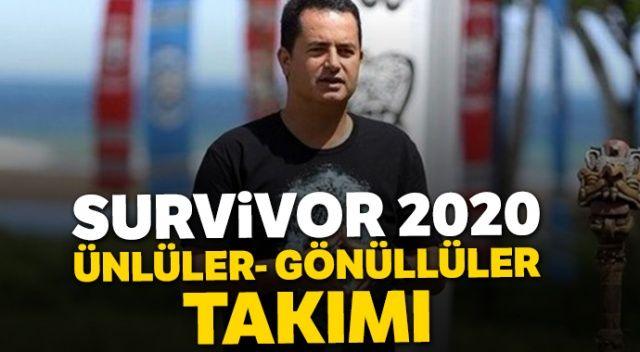 Survivor yarışmacıları! Survivor 2020 Ünlüler Gönüllüler Takımı (Survivor'da Bomba İsimler)