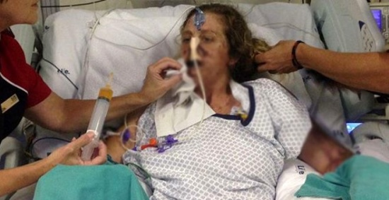 Firavun faresi tarafından ısırılan kadın, uzuvlarını kaybetti!