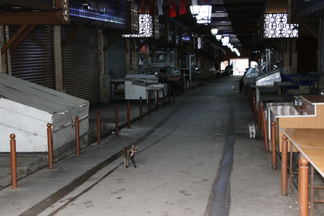 Elazığ'da 92 yıllık kapalı çarşı ilk defa kapandı