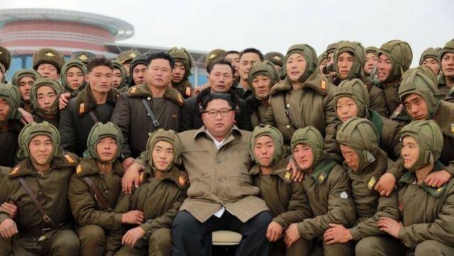 Kuzey Kore lideri Kim koronavirüse böyle meydan okudu