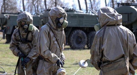 Rus ordusundan 'koronavirüs' tatbikatları