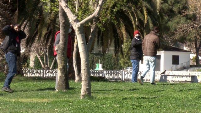 İstanbul'da güneşli havayı gören parklara koştu