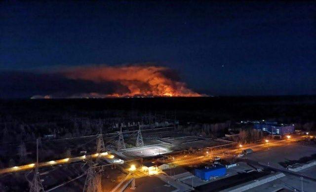 Çernobil'deki yangın 10 gündür söndürülemiyor